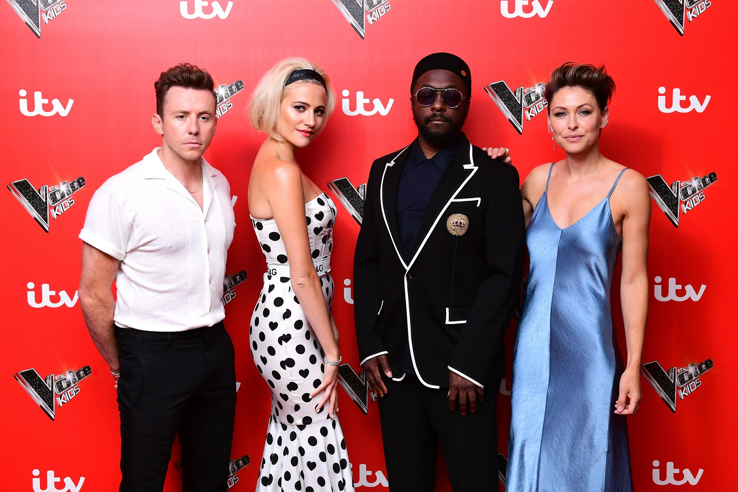 The presenting team of The Voice Kids