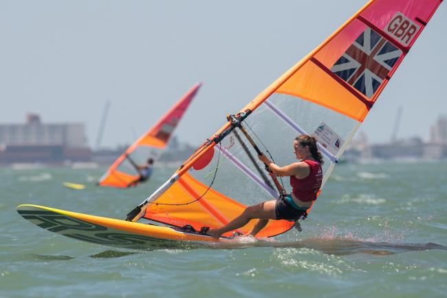 ON THE SEA: Action from the Youth Sailing World Championships in Corpus Christi, Texas