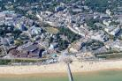 Aerial image of Bournemouth by Stephen Bath