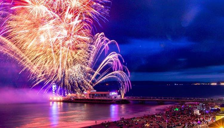Fireworks over Bournemouth Pier. Picture Bournemouth and Poole Tourism