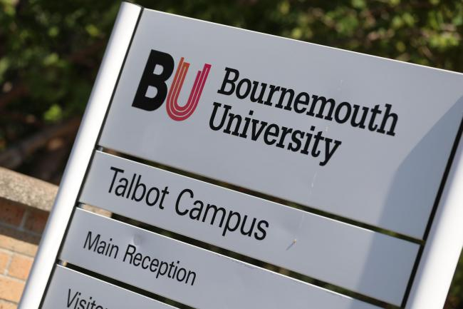 The Bournemouth University Talbot Campus site..