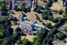 Aerial images of the area submitted by Stephen Bath. .Christchurch Priory. .MUST CREDIT - Photo by Stephen Bath..
