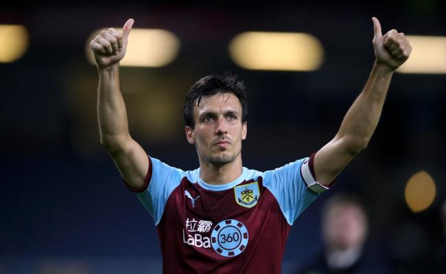 LOOKING BACK: Burnley's Jack Cork (Picture: Nick Potts/PA Wire)