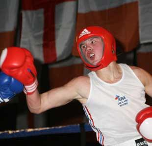 BOURNEMOUTH BOUT: Boxer Iain Weaver