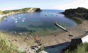NATURAL ASSET: Lulworth Cove, part of the Jurassic Coast