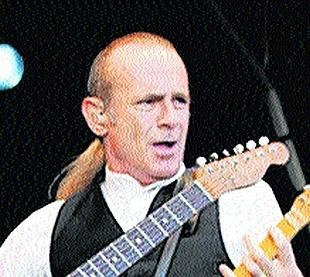 PARTING OF THE WAYS: Francis Rossi has had his ponytail cut off after 35 years