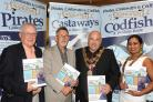 ) Don Nutt, Stephen Boyce, Mayor of Poole, Dimpee Kalita-Smith (R)