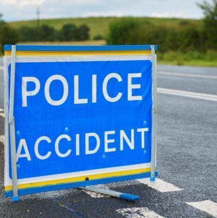 Road in Wimborne blocked after two-car crash