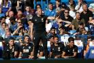Bournemouth manager Eddie Howe on the touchline during the Premier League match at Stamford Bridge, London. PRESS ASSOCIATION Photo. Picture date: Saturday September 1, 2018. See PA story SOCCER Chelsea. Photo credit should read: John Walton/PA Wire. REST