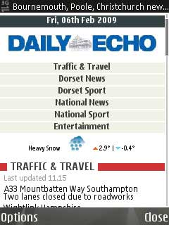 Bournemouth Echo: Bournemouth mobile