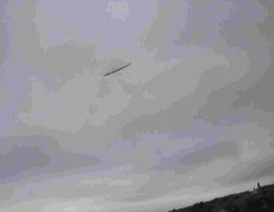 SHAPE IN THE SKY: An alleged UFO sighting in Dorset