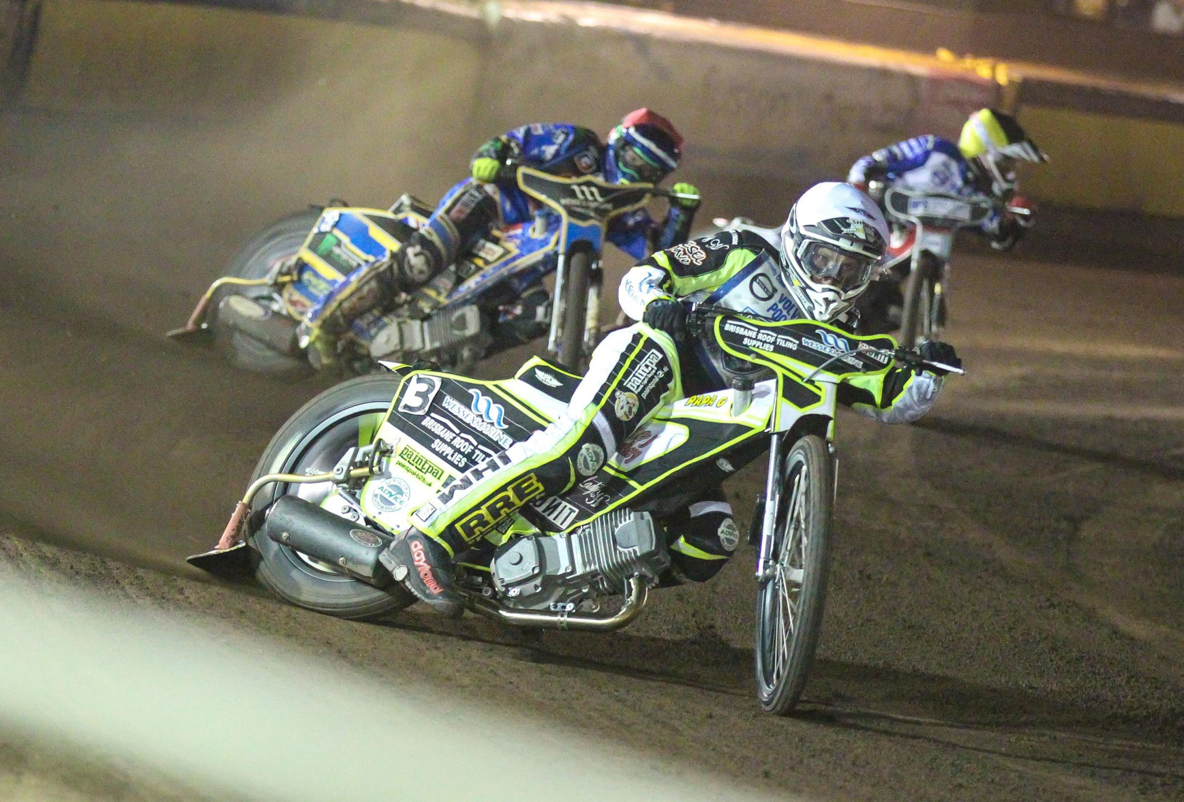CAPTAIN'S DISPLAY: Josh Grajczonek impressed in the play-off semi-final first leg at Somerset (Picture: Taylor Lanning)