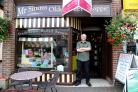 Geoff Morris who would like to retire but is unable to find a buyer for his Sweet Shop, Mr Simms, in Christchurch..