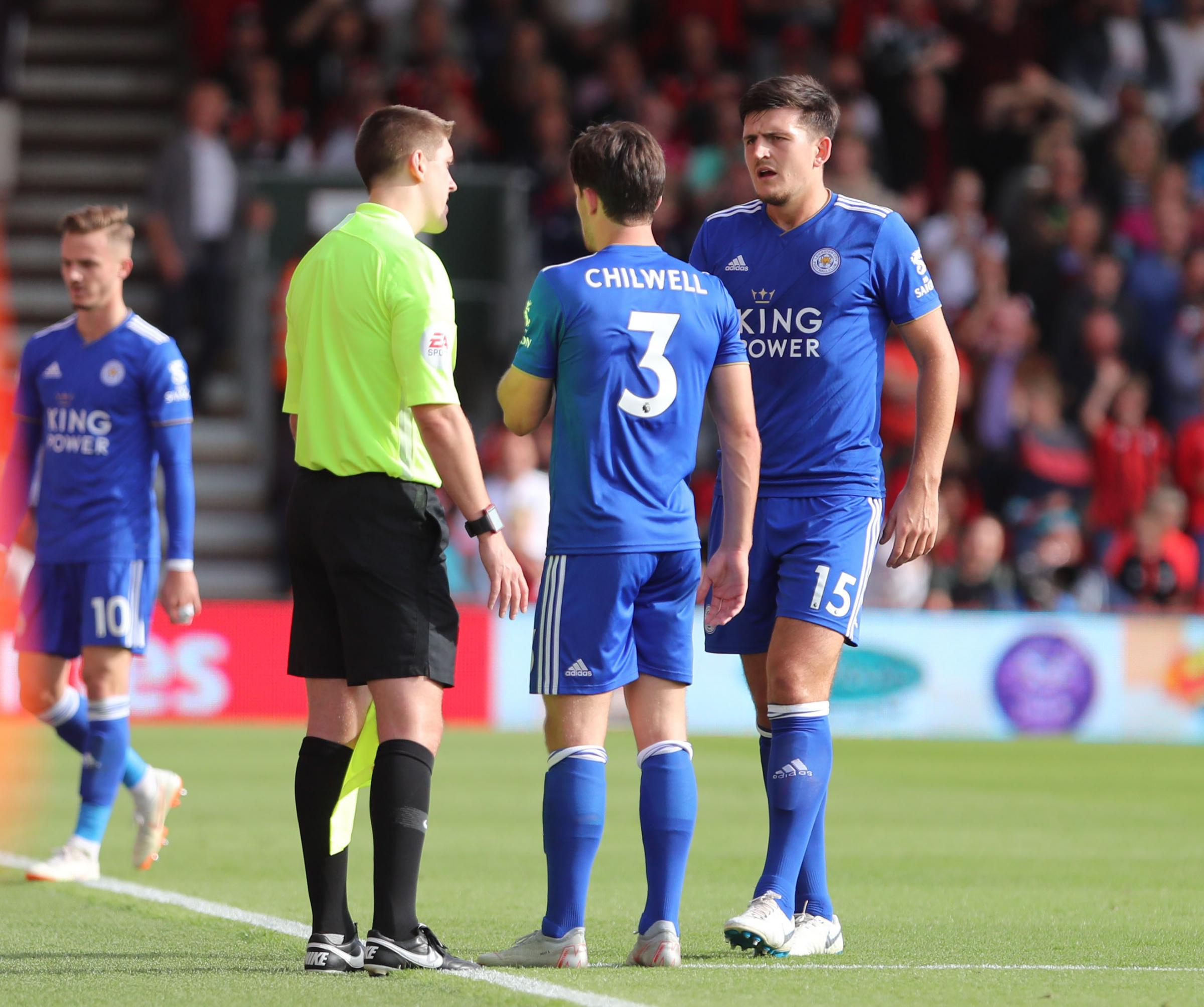 TRIPPED UP: Leicester suffered a 4-2 defeat at Vitality Stadium having travelled by coach the day before (Picture: Corin Messer)