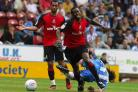 COMBATIVE: Midfielder Marvin Bartley played a key role in Cherries' success during Eddie Howe's first spell as manager
