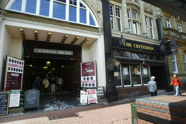 Looking back at how the Criterion Arcade in Bournemouth has changed from 2003 when it  contained a number of  independent  shops  along with the popular Criterion Pub. Redevelopment of the site started later in the same year and now features Monsoon and T