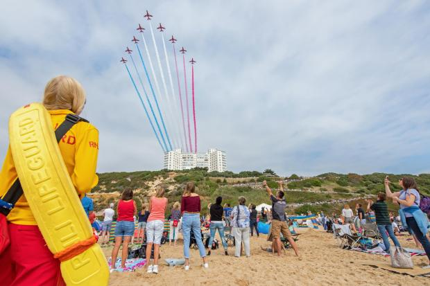 The first and second place images in the Daily Echo Castle Cameras 2018 Bournemouth Air Festival photographic competition. The winning image by Carl Draper which scoops him the first prize of £300 in Castle Cameras vouchers.