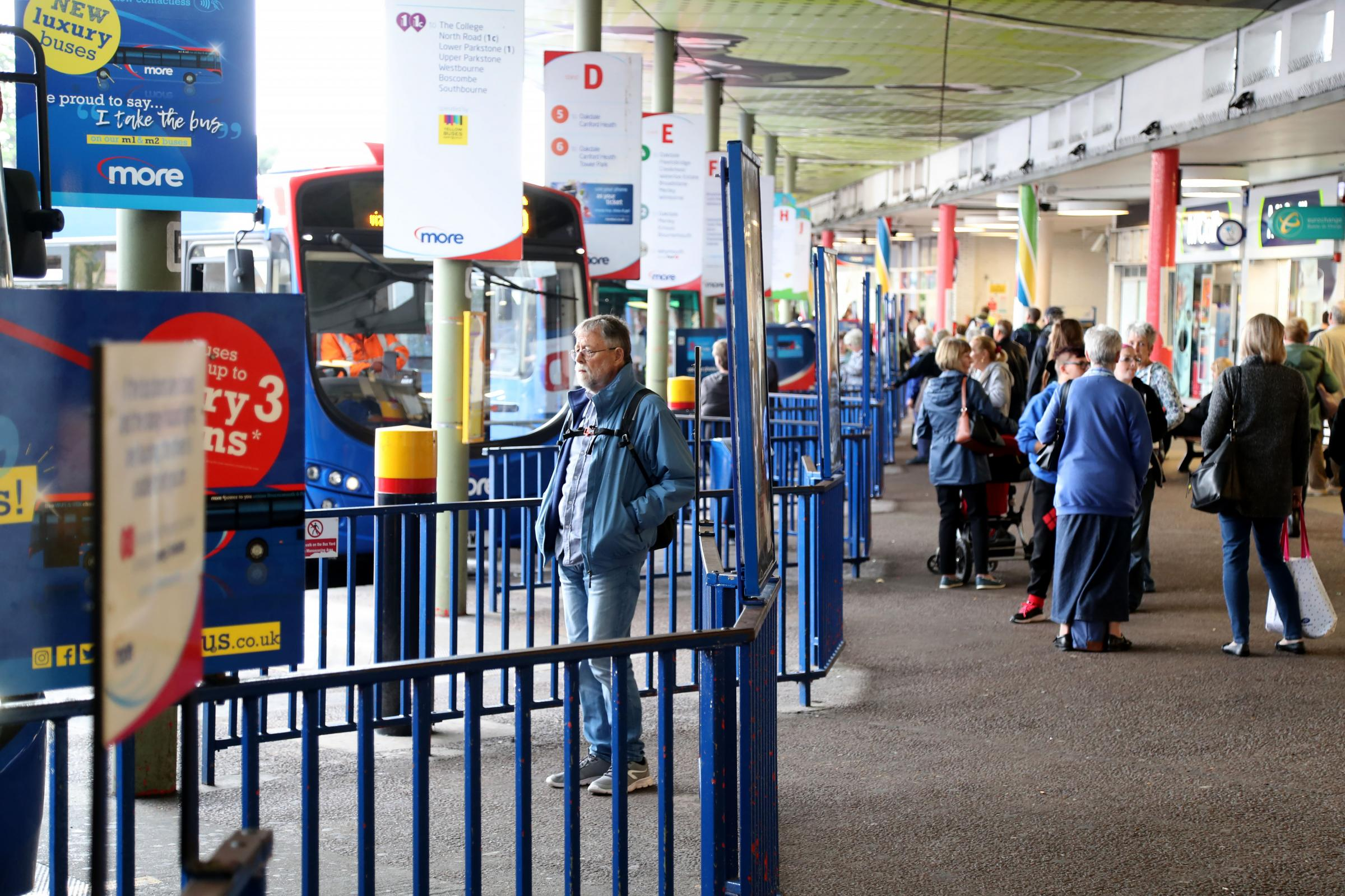Poole bus station is 'like a war zone' says former Poole council leader