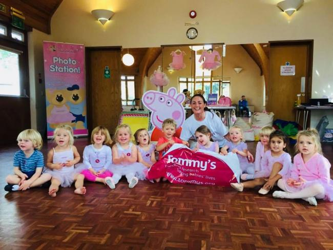 8f974f054 Babyballet Bournemouth and Poole raises money for charity Tommy s ...