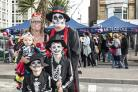 A Day of the Dead theme returns to Bournemouth's Metropole Market for October 2018