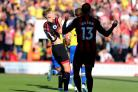 FRUSTRATION: David Brooks admitted Cherries had not been at their best against Southampton