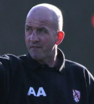 QUIT: Manager Adie Arnold has left Verwood Town