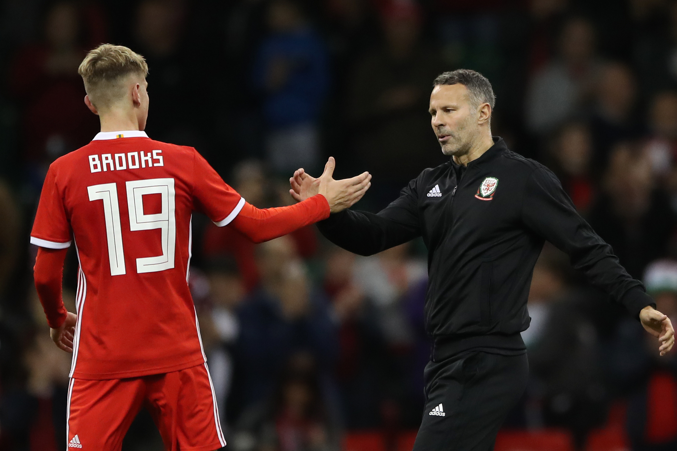 Wales boss Ryan Giggs says David Brooks 'will get better and better' with Cherries