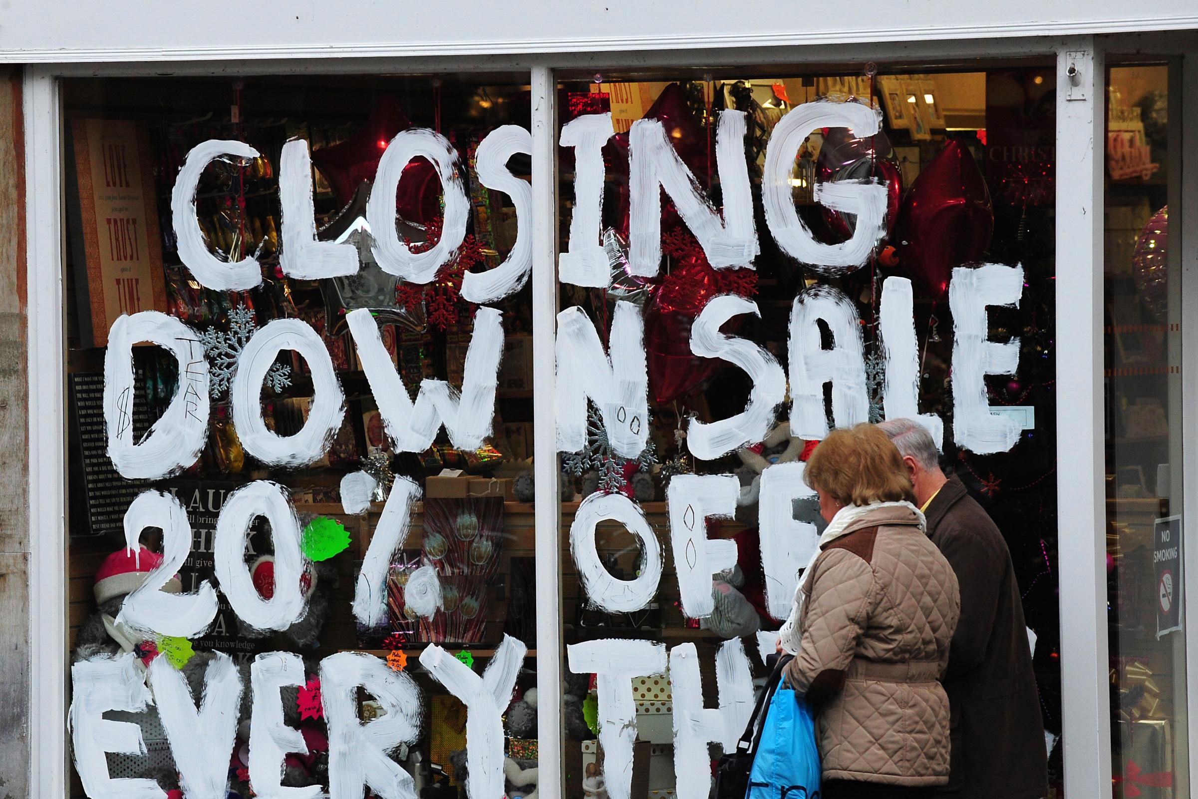 让苏格兰的私人企业陷入困境
