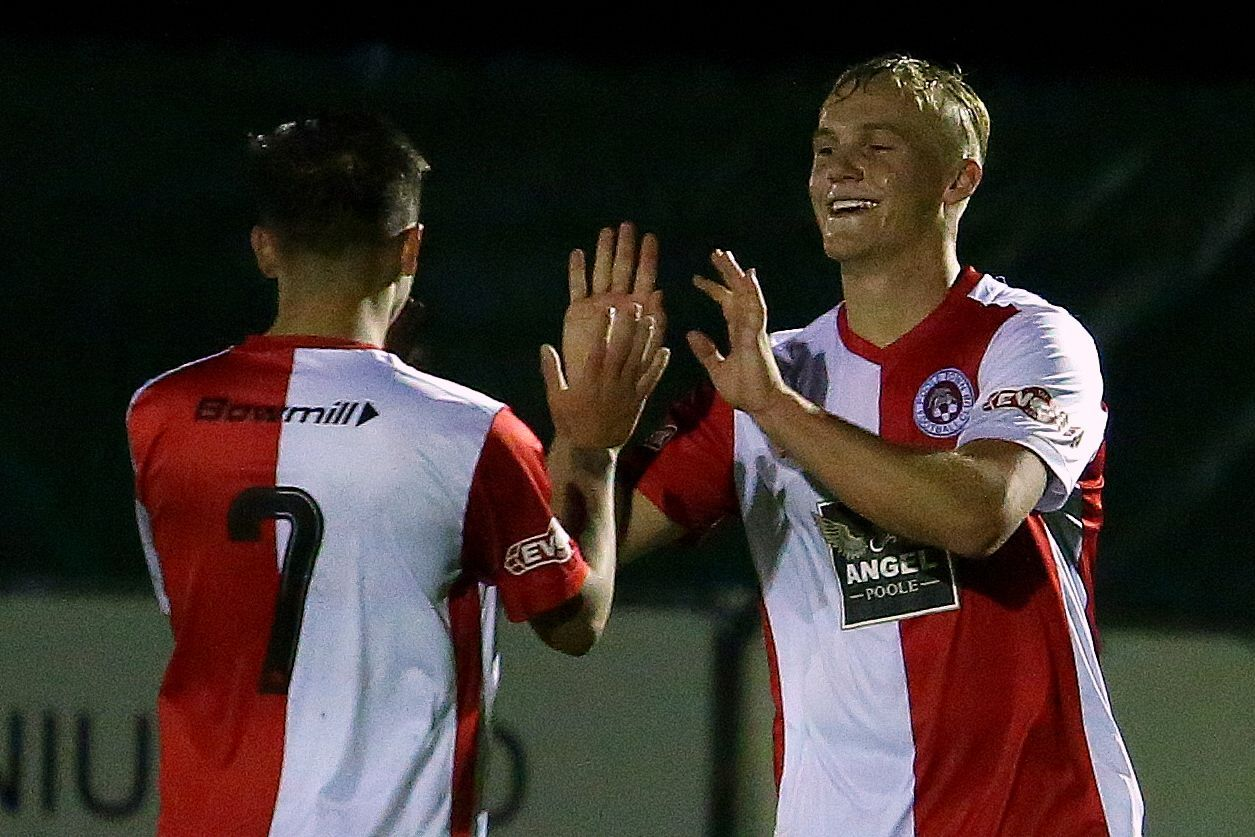 Cherries youngster Scrimshaw scores six on debut for loan club Poole Town – including four in seven minutes