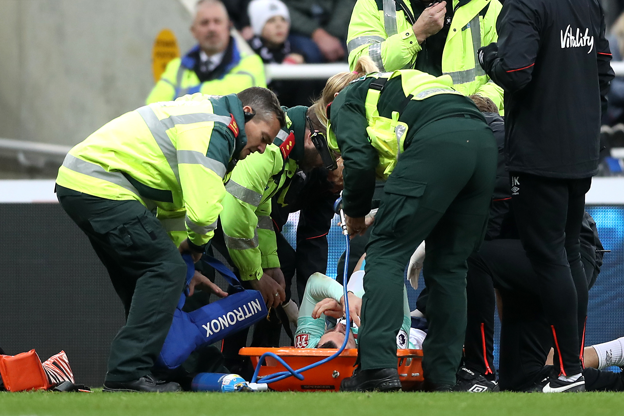 Rondon at the double as Smith stretchered off in Cherries' defeat to Newcastle