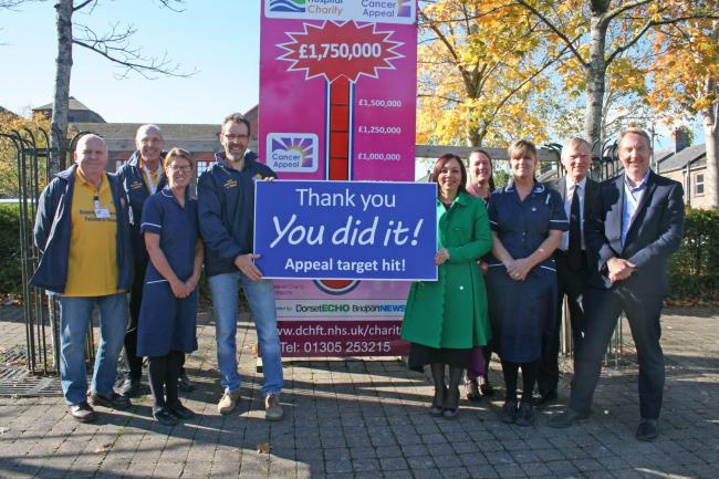 You did it! Dorset fundraisers celebrate achieving their goal