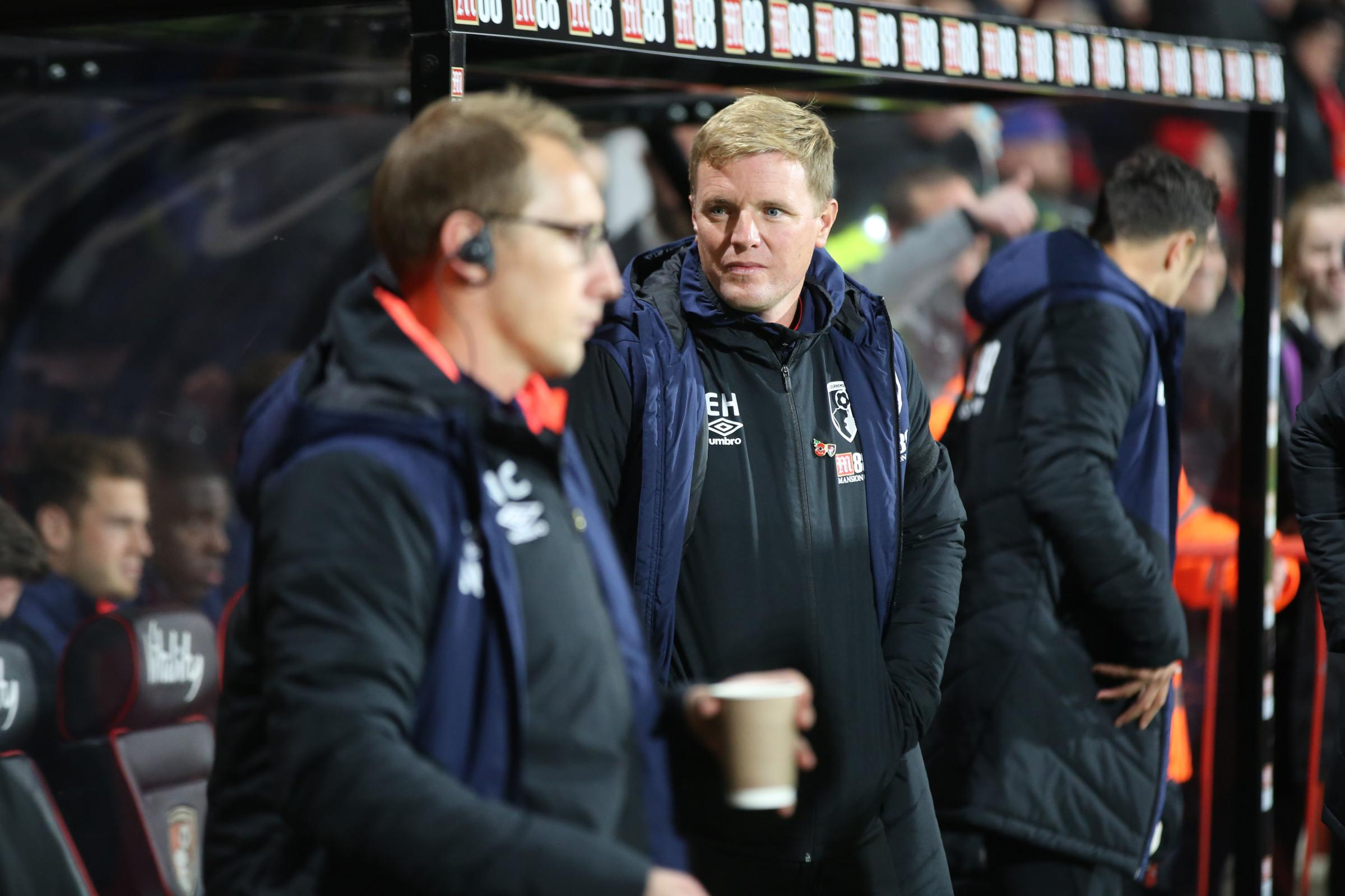 Boss Howe felt Cherries should have been awarded a penalty at Newcastle