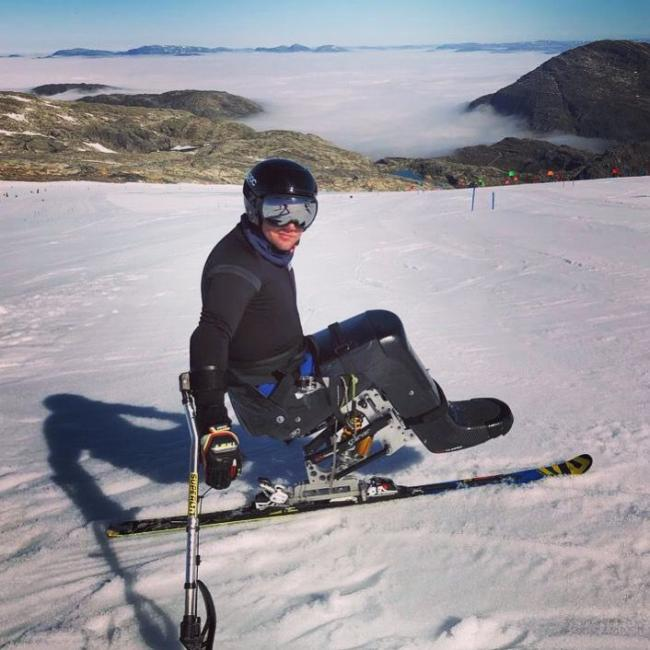 alpine skier set his sights on the 2022 winter paralympics in