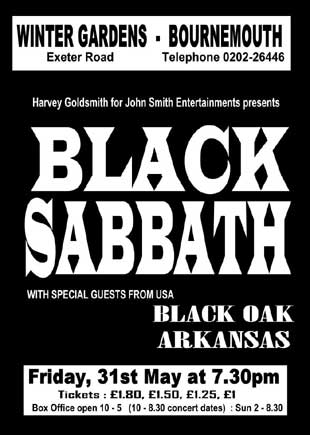 Bournemouth Echo: Black Sabbath