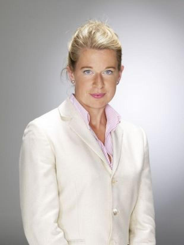 Bournemouth Echo: EUROPEAN AMBITIONS: Katie Hopkins, who featured in the 2007 series of the hit show