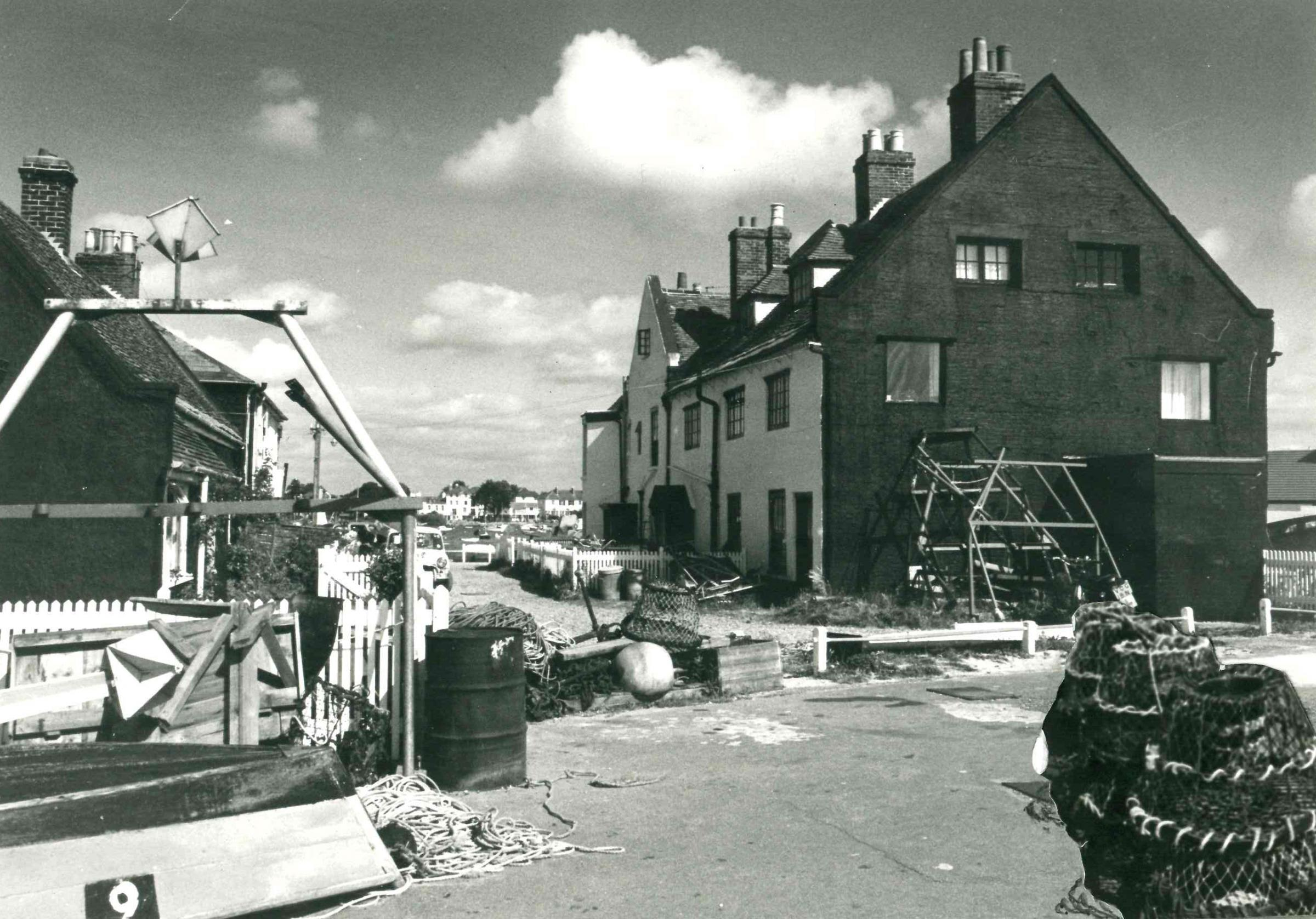 Mudeford Quay taken in September 1980. Picture: Bournemouth Daily Echo.