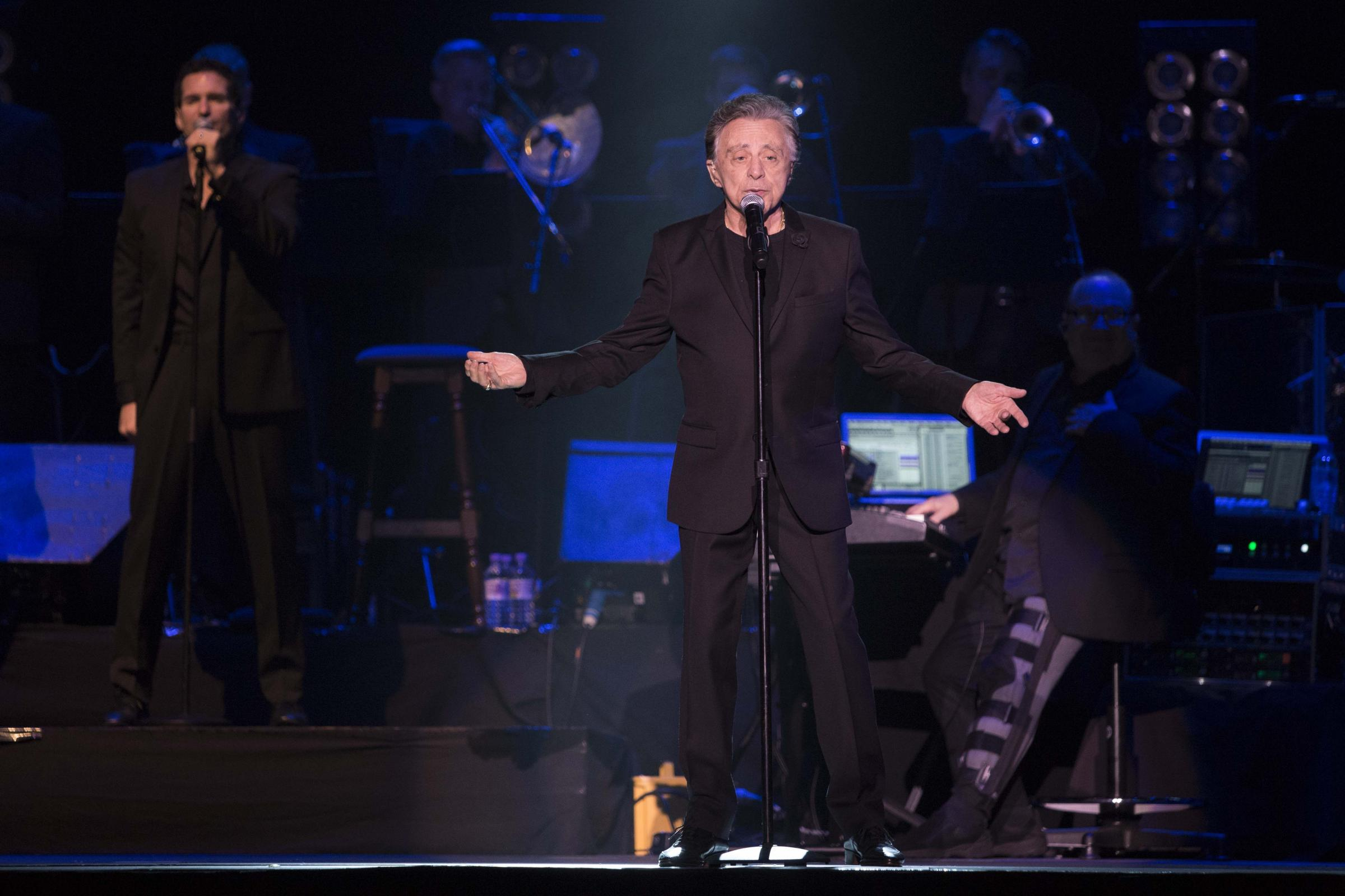 Frankie Valli plays the BIC. Picture: rockstarimages.co.uk.
