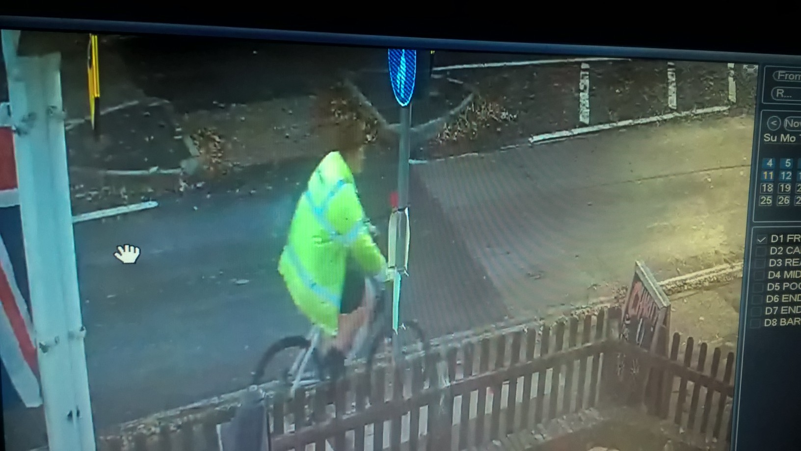 CCTV footage of man Hampshire Police want to speak to