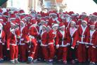GALLERY: A sea of Santas for Lymington Santa Dash
