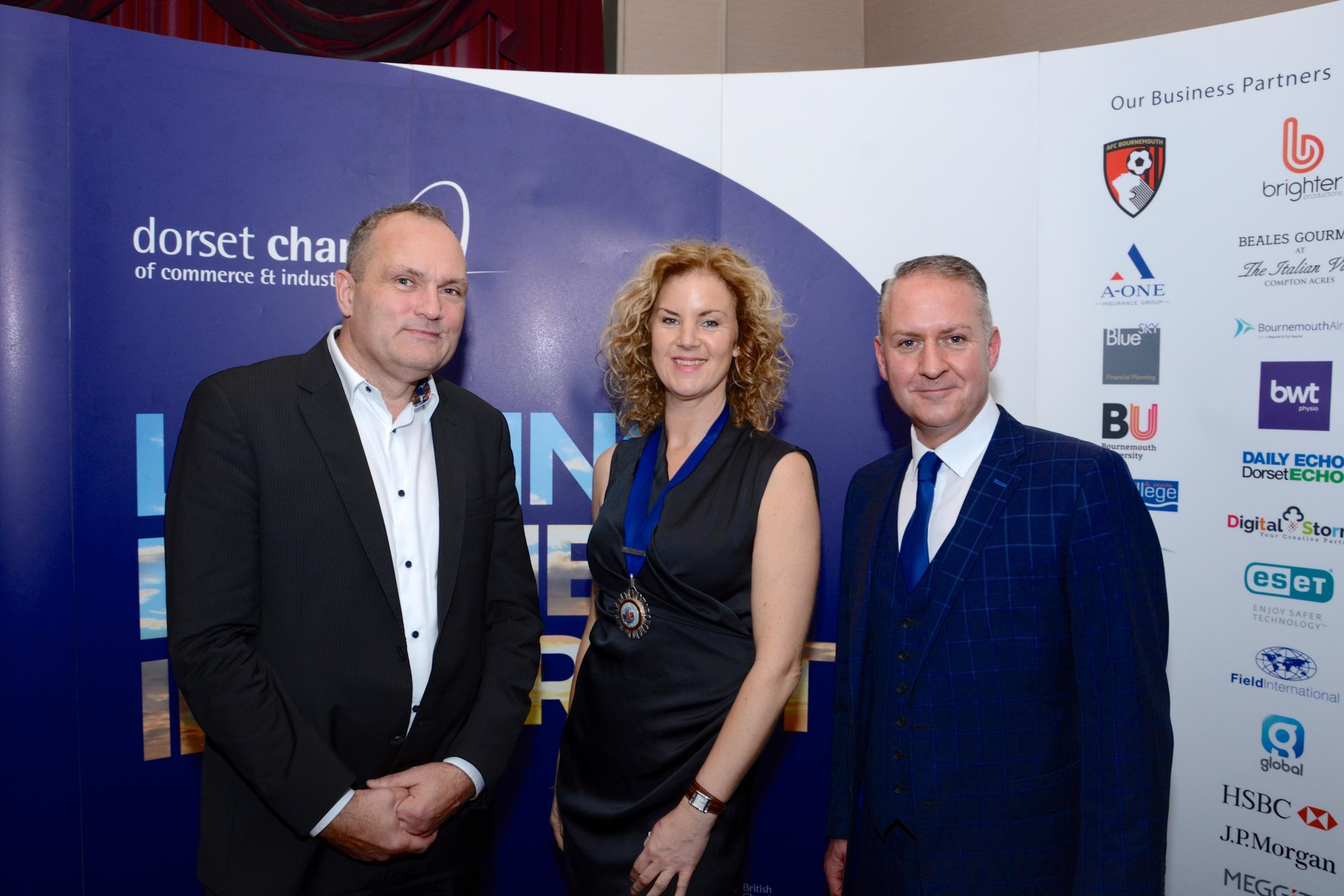 Liz Willingham becomes President of the Dorset Chamber - Bournemouth Echo