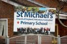 The incident happened at St Michael's School