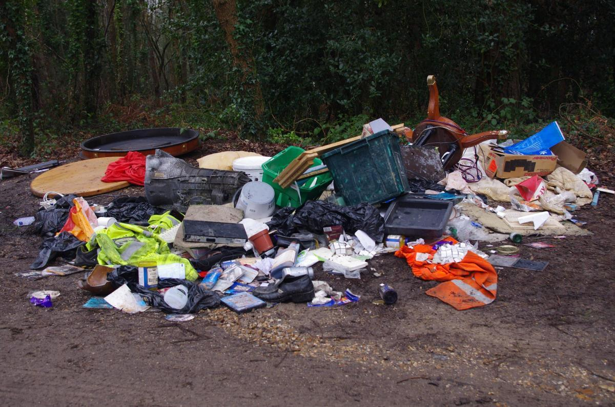 Adult films and clothing were found at St Catherine's Hill
