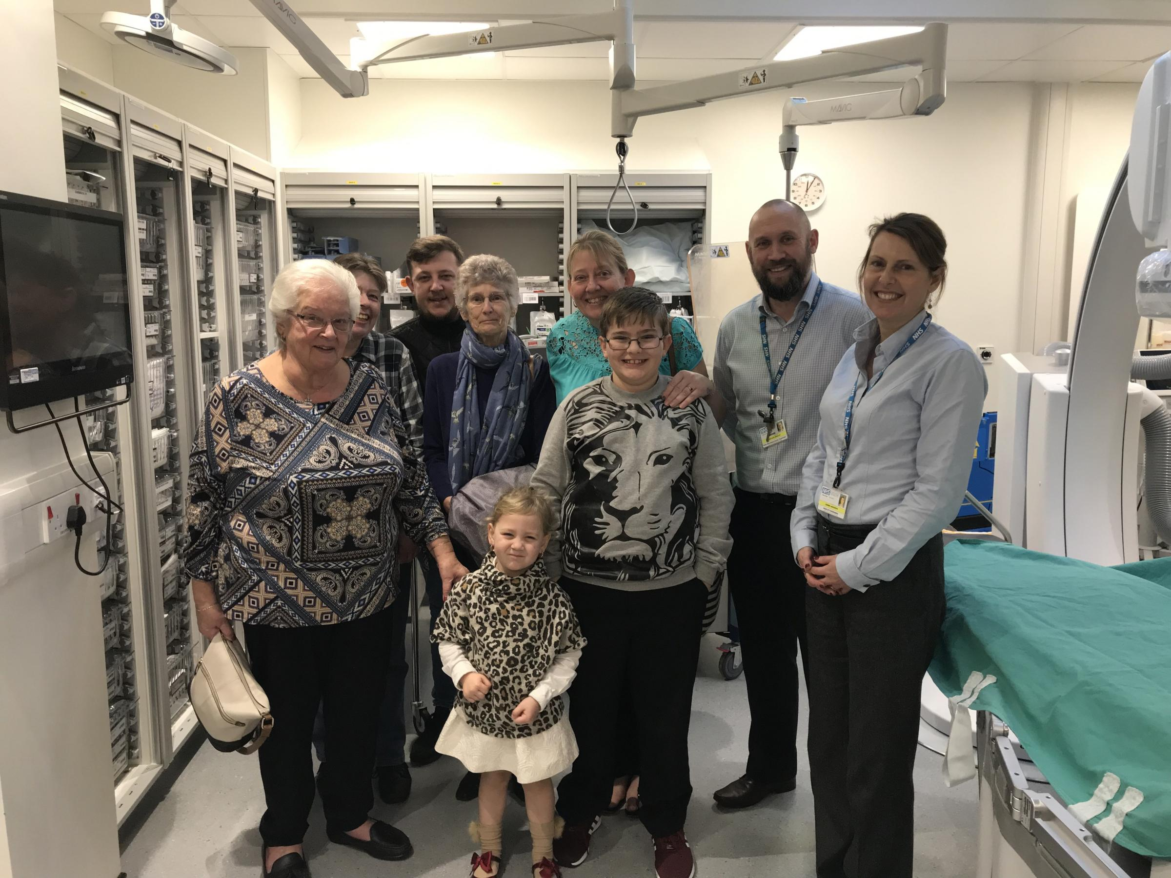 Bournemouth gran's amazing donation helps heart patients at hospitals
