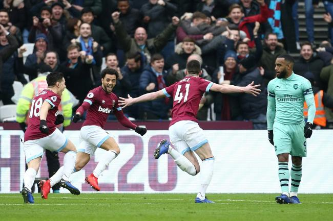 West Ham United v Arsenal – Premier League – London Stadium