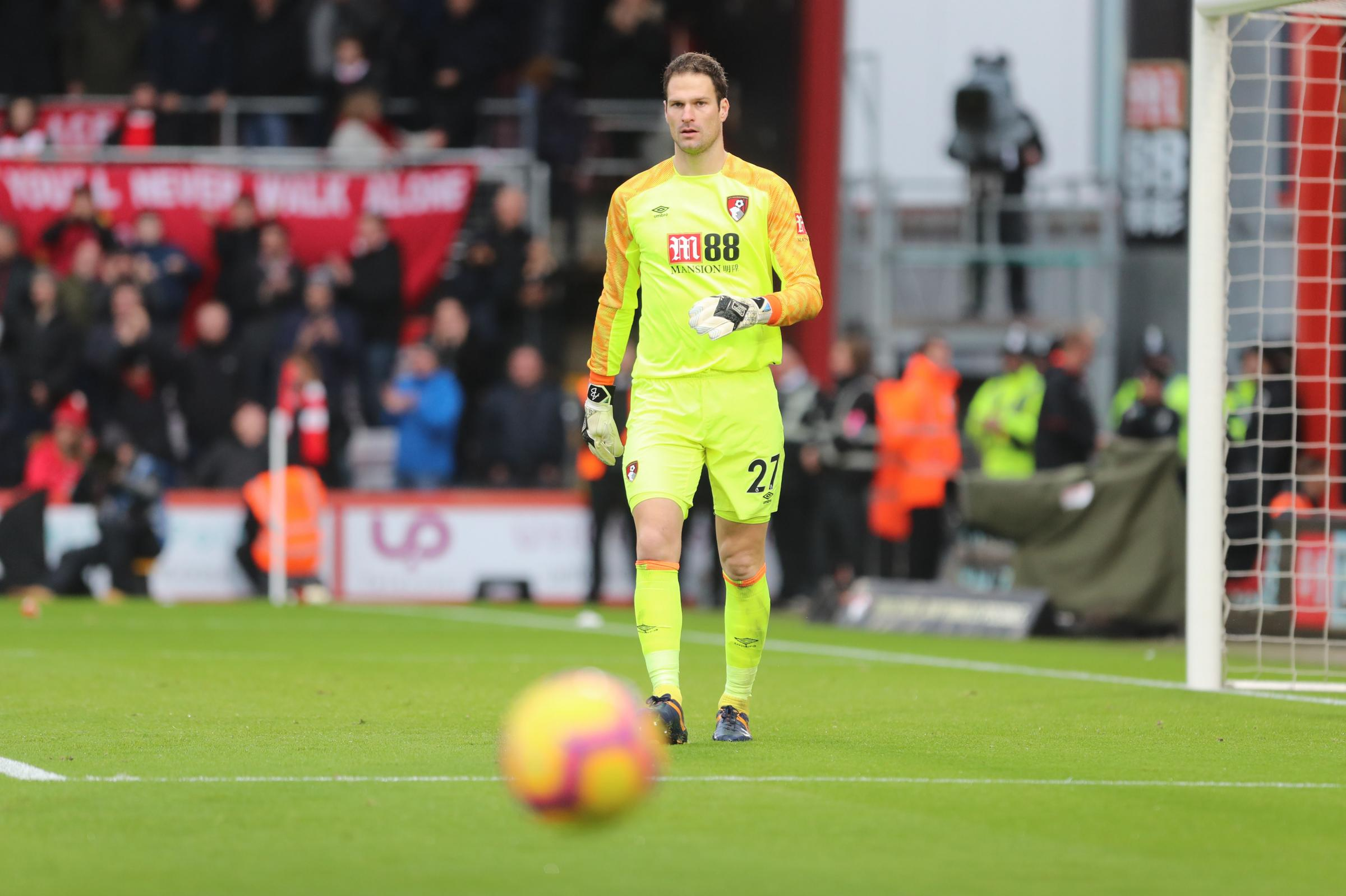 Begovic hopes fortune will start to favour Cherries
