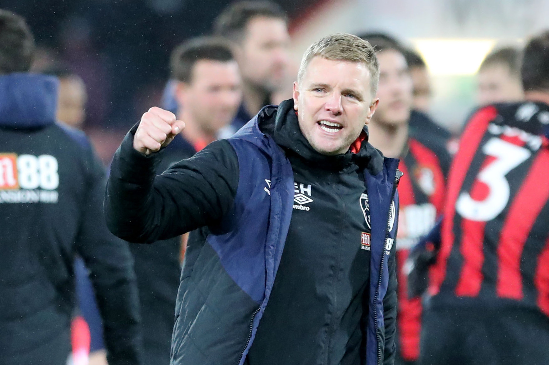 'It was a real reward for the players' efforts' – Howe's delight after West Ham triumph
