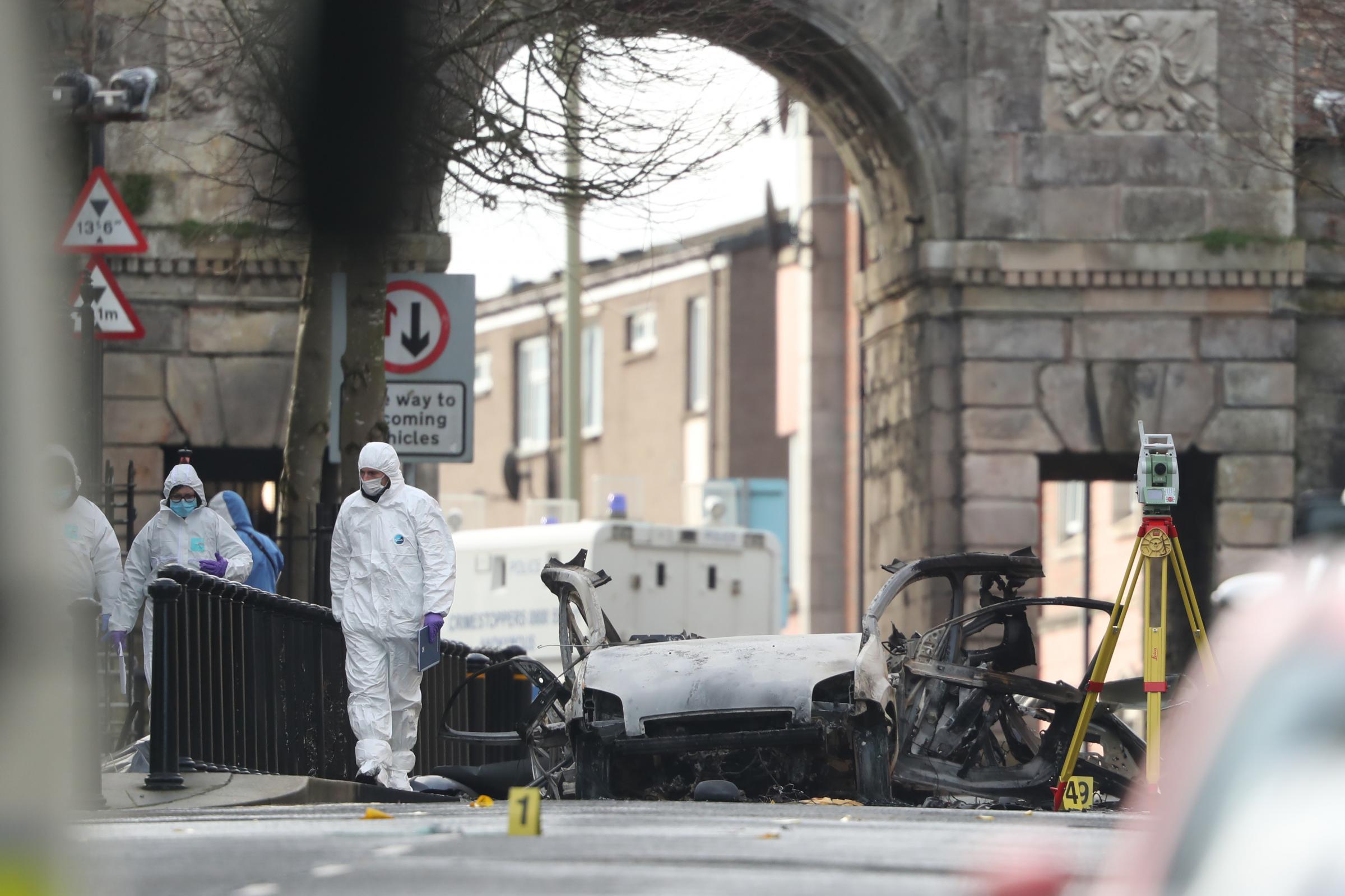 异议共和党组织新爱尔兰共和国主要调查汽车炸弹后