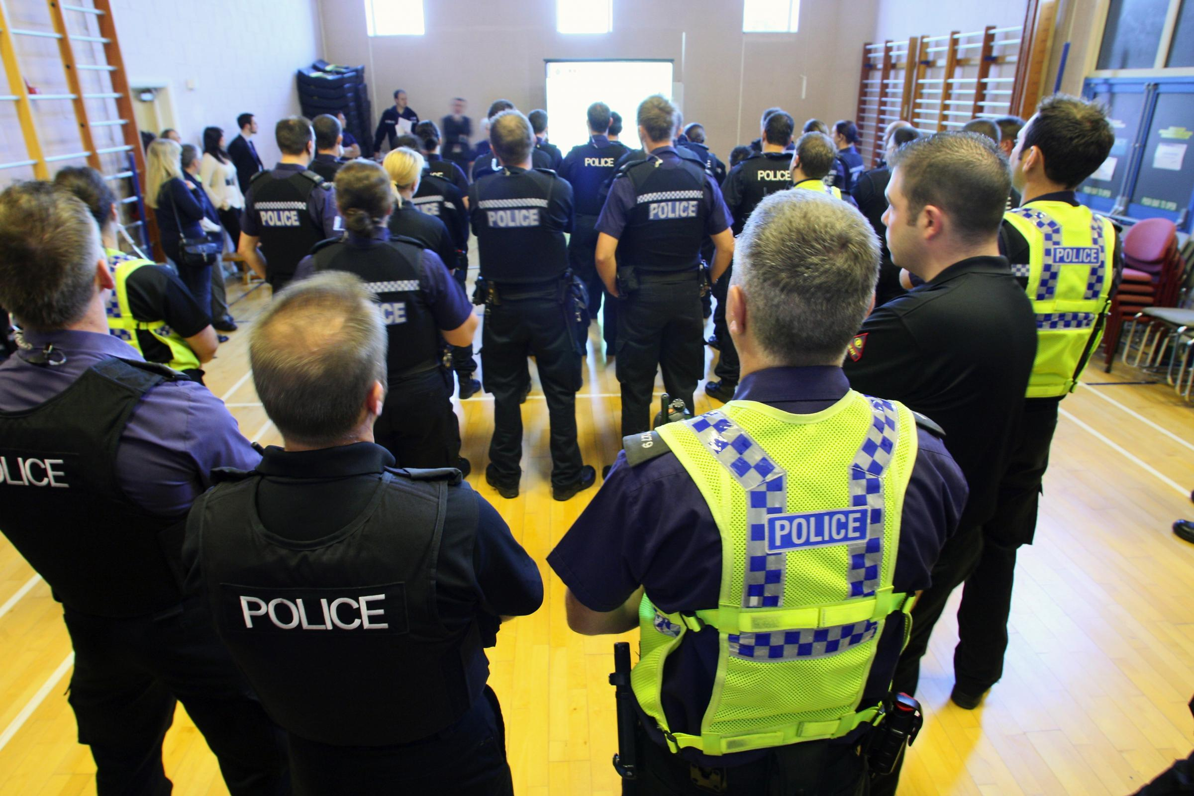 A team of police officers from Dorset Police