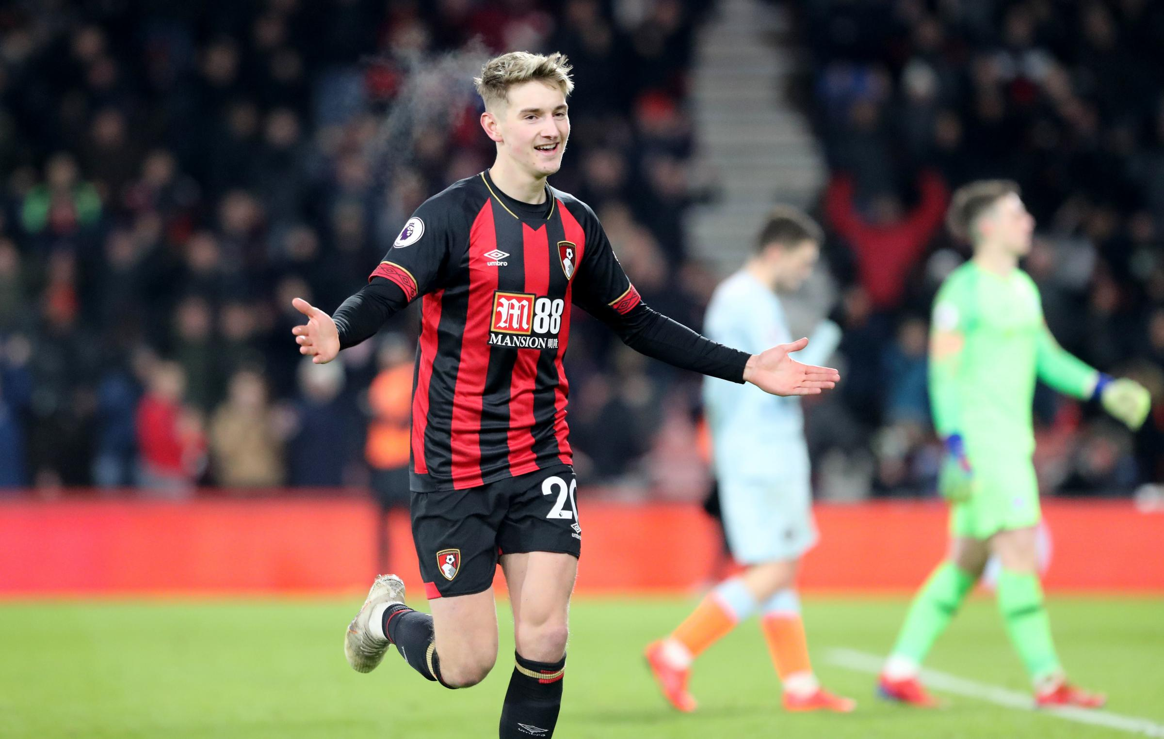 AFC Bournemouth star David Brooks nominated for PFA Young Player of the Year