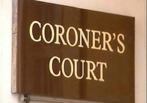 The inquest was opened at the coroner's court